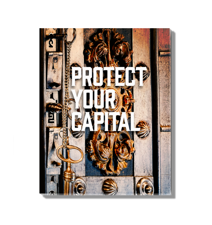 Protect Your Capital Acrylic Wall Art