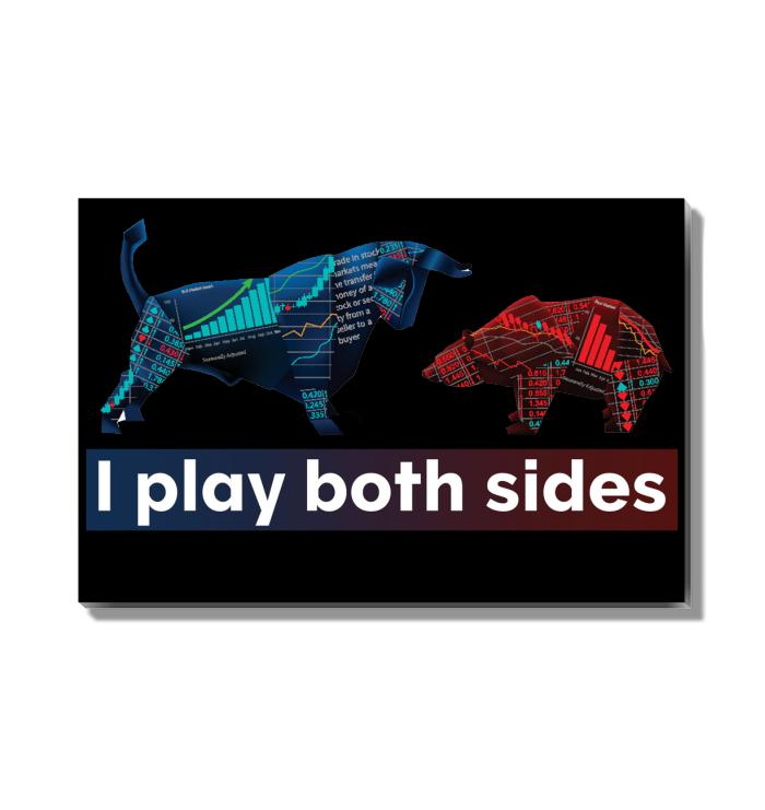 Play Both Sides of The Markets Acrylic Wall Art