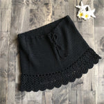 Crochet Generation Black Skirt