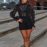 Dark House Walk Playsuit