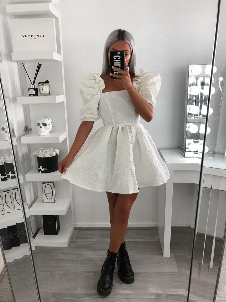 Snow Princess Dress (White)