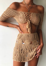 Crochet Nude Skirt