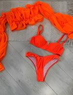 Uzak Neon Orange Set