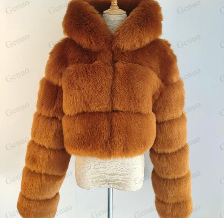 Lola Faux Fur Coat (More Colours)