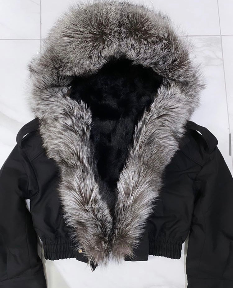 Luxury Fur Parka