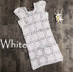 Crochet White Dress