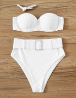 Lale underwire High Waisted Diamond Set