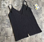 Crochet Black Rompers