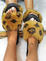 Envy Faux Fur Slippers