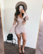 Floral Stretch Dress