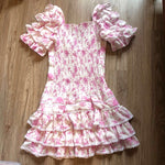 Pink Princesses Girl Dress