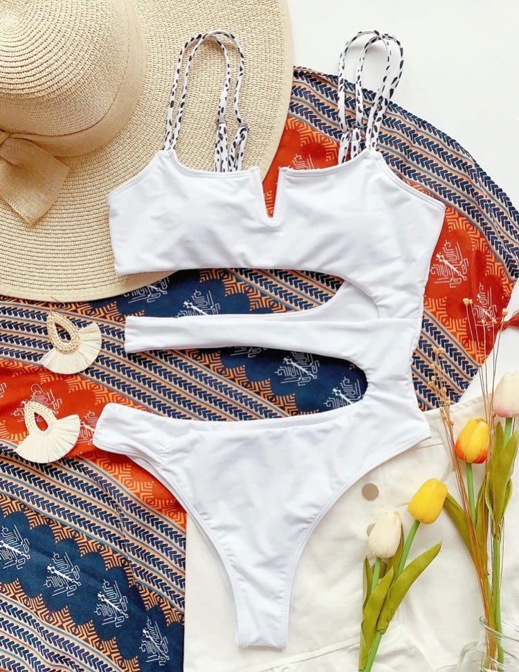 White Vibes Swimsuit