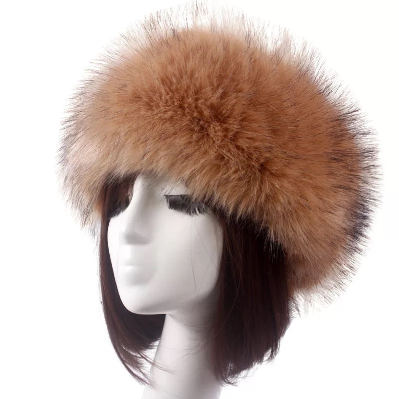 Faux Fur Hats (MORE COLOURS AVAILABLE)
