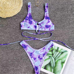 Tie Die Criss Cross Set