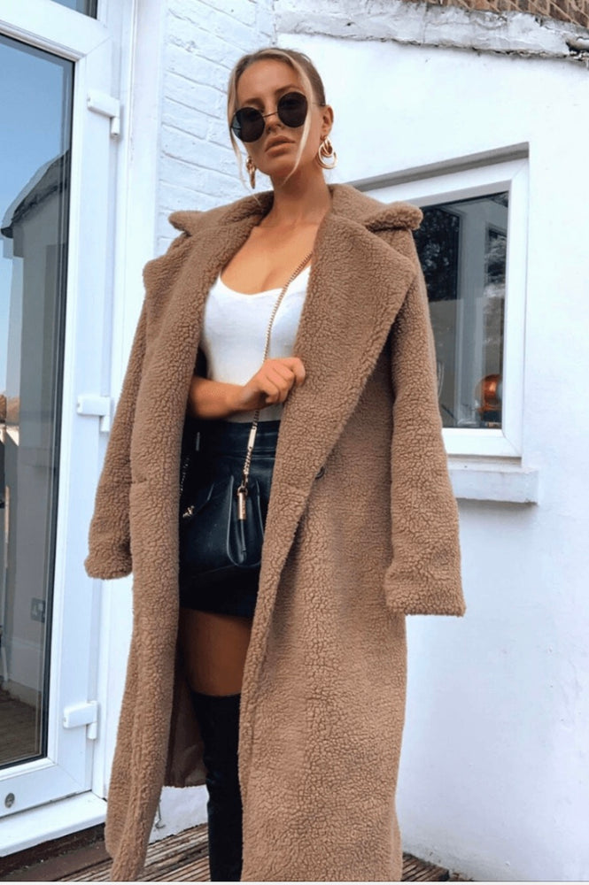 Teddy Coat Mocha