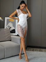 Sparkle With It White Dress