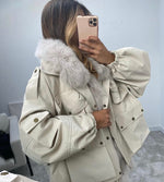 Elcin Oversized Parka Coat (MORE COLOURS AVAILABLE)