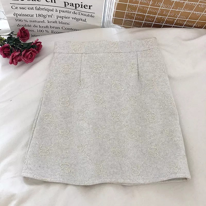 Wool Autumn Skirt (More Colours)