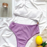 Oscar Purple Swimsuit