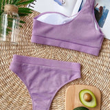 Rib Purple Set