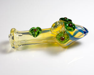 4.5 inch Hand Blown Glass Pipe (P12)