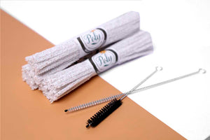 Copy of 132 Count Hard Bristle Pipe with 2 Nylon Bristle Brush