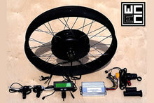 "3000W Direct Drive Fat Motor Kit with 80mm x 26"" Fat Rim"
