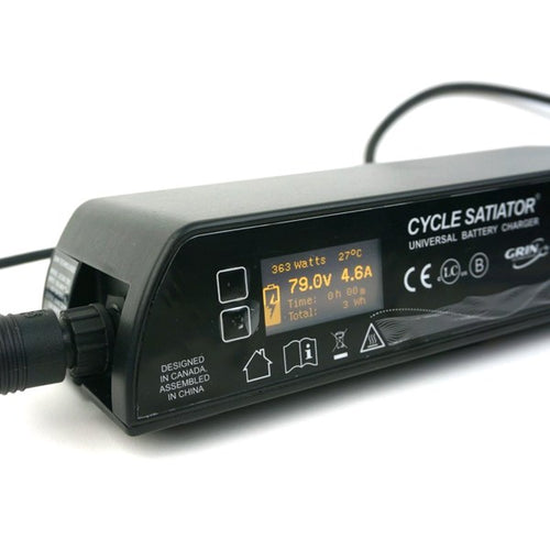 Grin Cycle Satiator - 72V-5A Battery Charger
