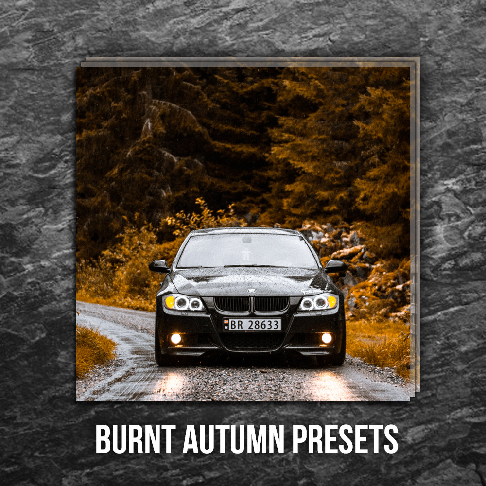 BURNT AUTUMN VIBES | ADOBE LIGHTROOM PRESETS PACK | Matt 'n' Seb