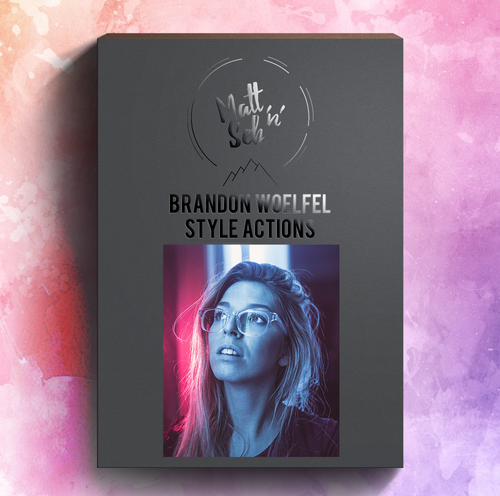 BRANDON WOELFEL - STYLE PHOTOSHOP ACTIONS - Matt 'n' Seb