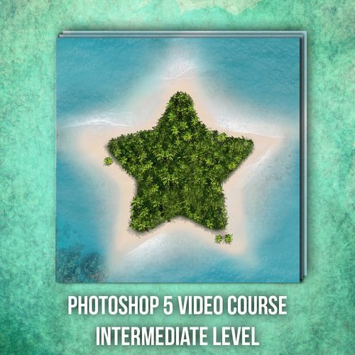 PHOTOSHOP STAR  ISLAND COURSE - BEGINNER/INTERMEDIATE LEVEL - Matt 'n' Seb