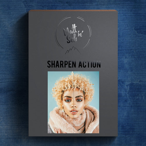 SHARPEN IMAGES PHOTOSHOP ACTION - Matt 'n' Seb