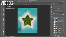 Load image into Gallery viewer, PHOTOSHOP STAR  ISLAND COURSE - BEGINNER/INTERMEDIATE LEVEL - Matt 'n' Seb