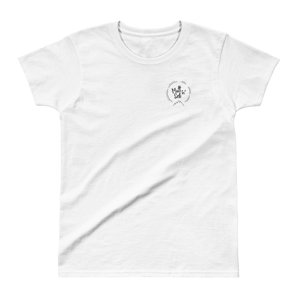 Ladies' Matt n Seb T-shirt - Matt 'n' Seb