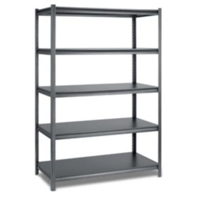 "Industrial Metal Warehouse Shelving - 48"" X 24"""