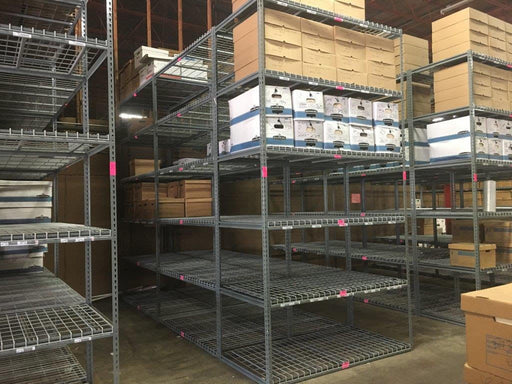 Garage Storage Lightweight Metal Shelving Packages for Warehouses or Homes