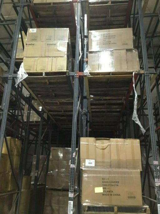 Used Industrial Drive In Pallet Rack Package