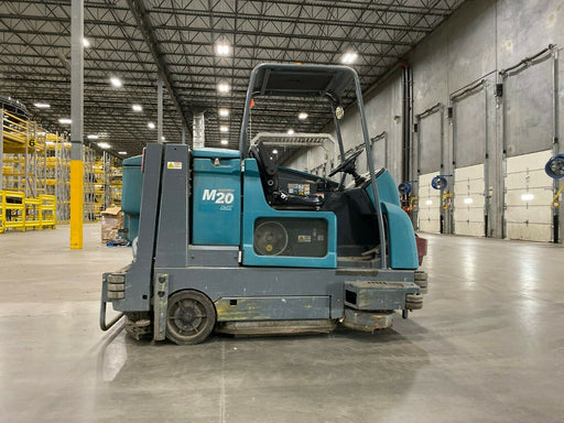 Used M20 Tennant Propane Powered Floor Sweeper/Scrubber