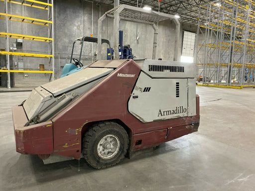 Used Powerboss Armadillo Warehouse Sweeper