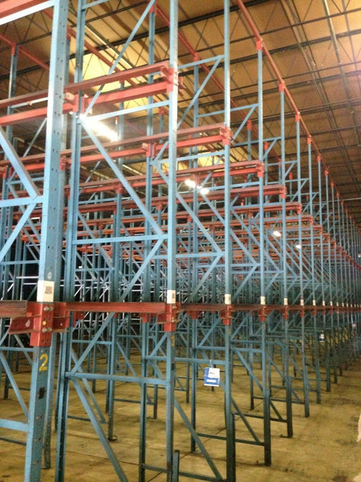 Used Drive In Pallet Rack Package - 7 Deep X 3 High