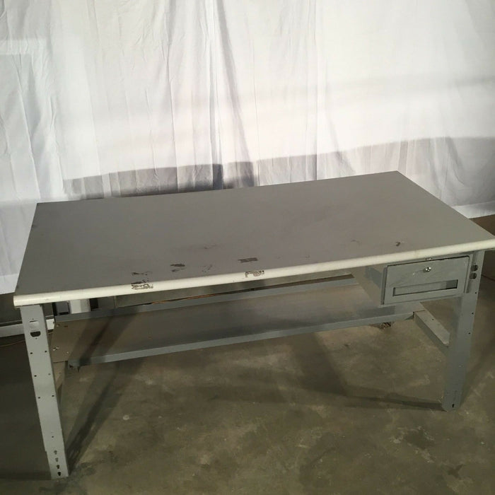 "ULINE Deluxe Industrial Workstation - 72"" X 37"" X 30"""