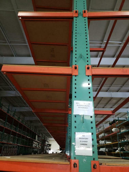 Double Sided Cantilever Pallet Rack 26' Package