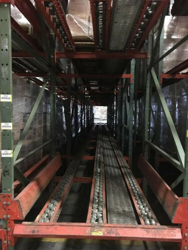 Used Pallet Flow Warehouse Storage Package