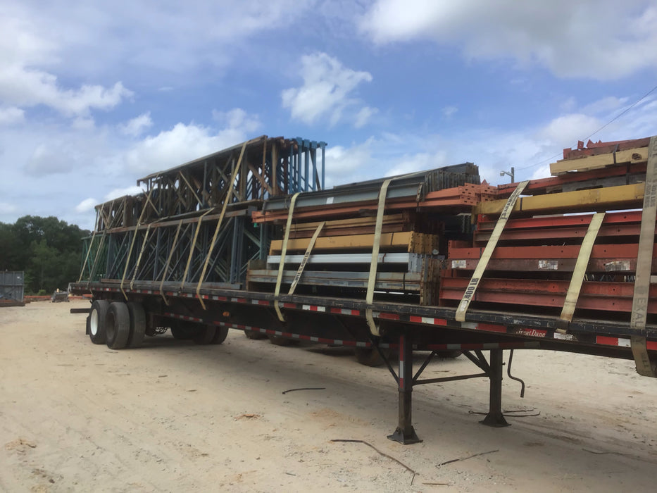 "Pallet Rack Structural Upright - 52"" X 18'"