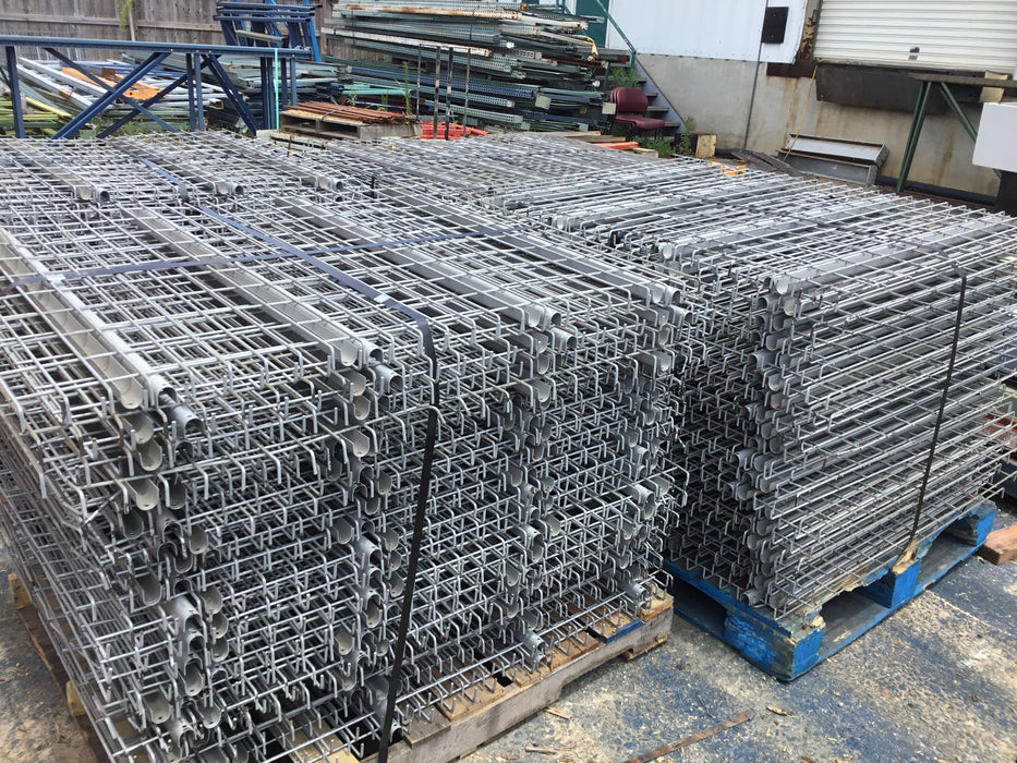 "Used Lay-In Wire Deck 39"" X 46"""