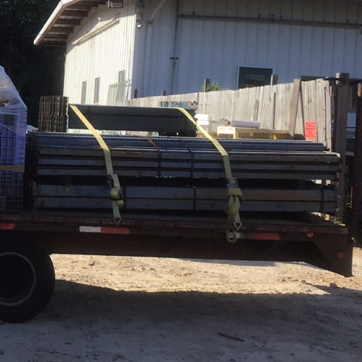 "Used Husky Pallet Rack Beam - 49"" X 4.5'"