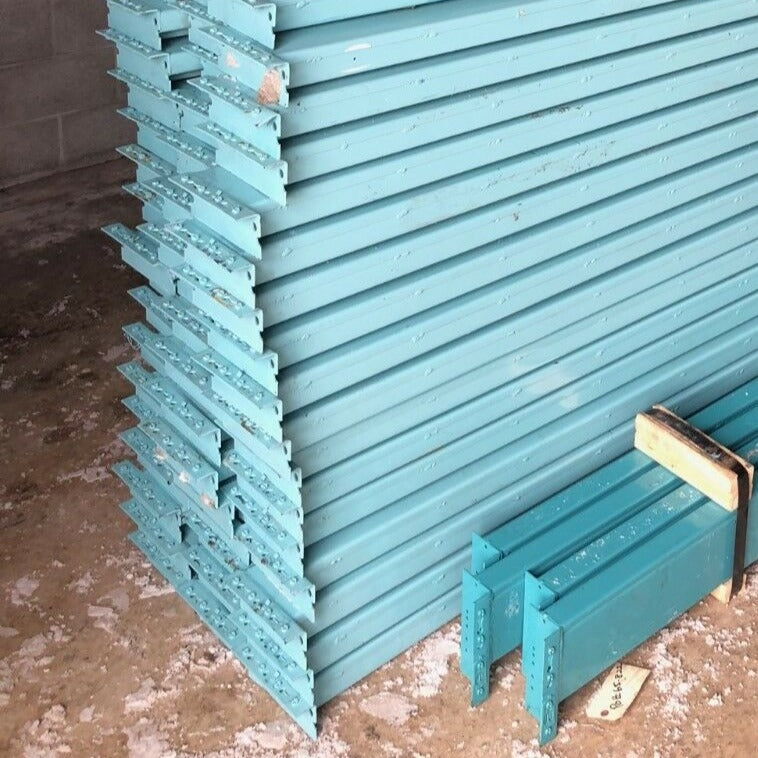 "Teardrop Pallet Rack Beam  - 105"" x 5"""