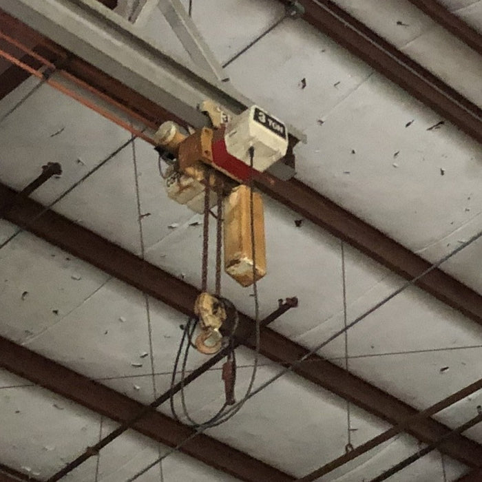 Used Warehouse Electric Hoist System Coffing Crane