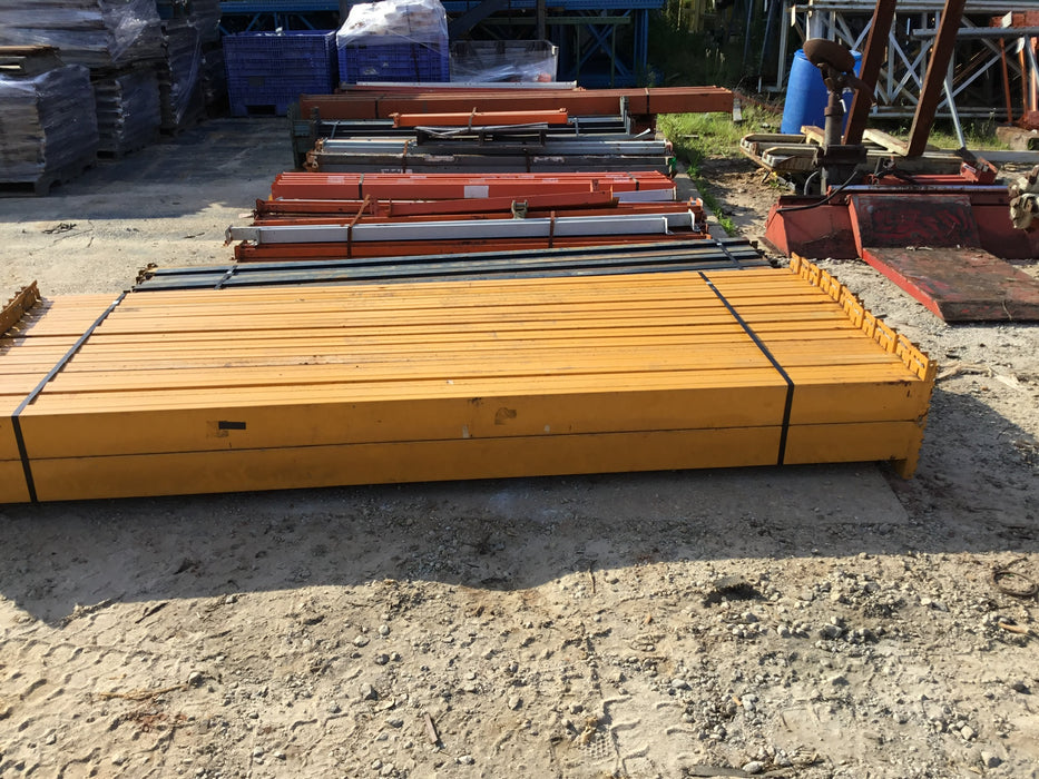 "Used Pallet Rack Keystone Beam - 120"" X 5.5"""