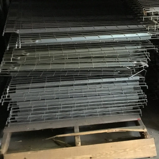 "Used Lay In Pallet Rack Wire Deck - 46"" X 48"""